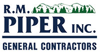 R.M. Piper Inc. General Contractors Logo